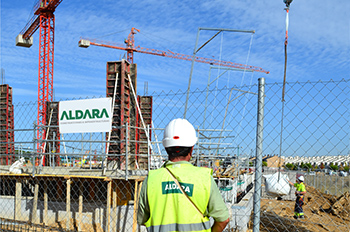 ALDARA obtains the Business Classification for Public Administration Works Construction